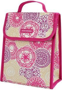 Bolsa Térmica Retangular Jacki Design My Lolla Pink - Kanui