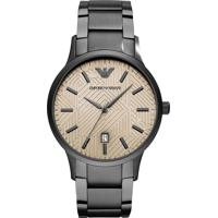 3ad8129a5fb Relógios Cinza Giorgio Armani masculino