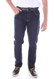 Calça 2195 Jeans Azul Traymon Modelagem Regular