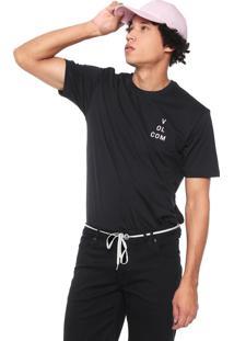 Camiseta Volcom Key King Preta