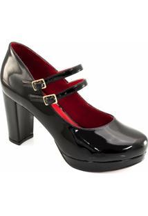 c1d9c08870 ... Scarpin Verniz Numeração Grande Sapato Show - Feminino