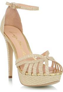 Sandália Glitter Ouro
