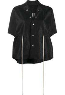 Rick Owens Button-Up Jacket - Preto