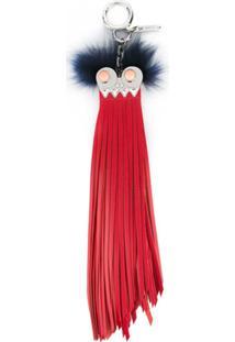 Fendi Chaveiro 'Bag Bugs' - Vermelho