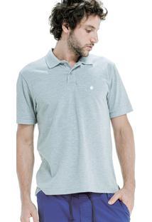 Camisa Polo Von Der Volke Basis Piquet Cinza