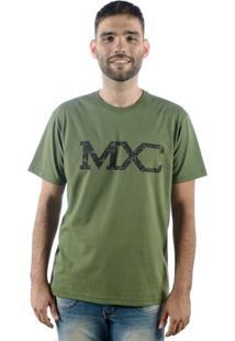 Camiseta Multcaps Mxc 001 Verde