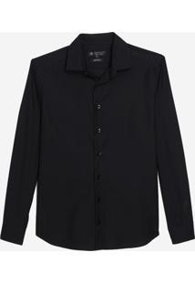Camisa Dudalina Manga Longa Jacquard Fio Tinto Masculina (Vinho, 4)