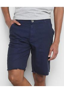 Bermuda Jeans Hang Loose Walk Trust Masculina - Masculino-Marinho
