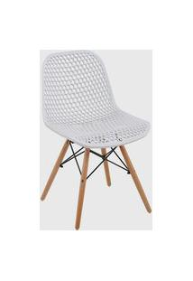 Cadeira Eloisa Branca Conjunto 04 Rivatti