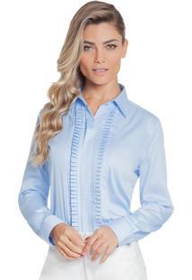 Camisa Principessa Savia Azul