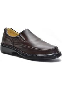 Sapato Conforto Galway Masculino - Masculino-Café