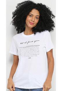 Camiseta T-Shirt Forum Estampada Feminina - Feminino