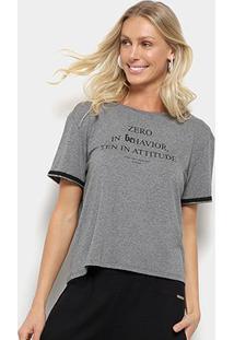 Camiseta Sommer Zero In Behavior Feminina - Feminino