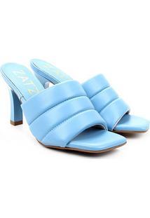 Tamanco Zatz Salto Fino - Feminino-Azul