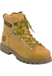 Bota West Coast Adventure Worker Classic Camel - Masculino-Caramelo
