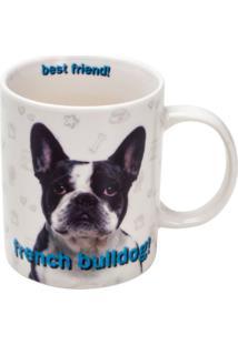 Caneca De Porcelana Bulldog Francês Rojemac