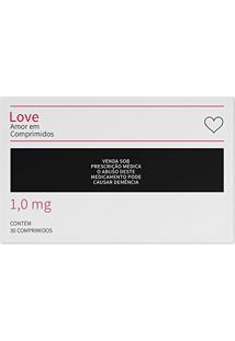 Jogo Americano (Kit 4 Unidades) Love Em Comprimidos