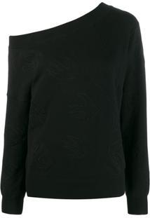 Mcq Alexander Mcqueen Suéter Com Logo - Preto