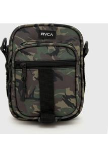 Bolsa Rvca Shoulder Bag Utilty Pouch Verde - Kanui