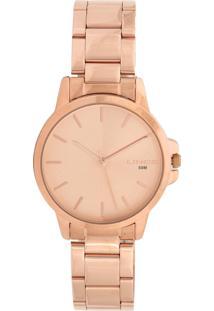 Relógio Lince Lrr4482L-R1R Rosê - Kanui
