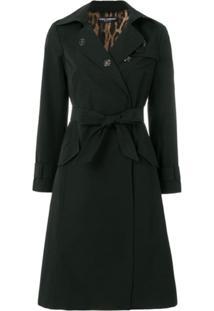 Dolce & Gabbana Trench Coat 'Sacred Heart' - Preto