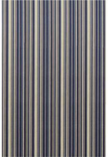 Tapete Metrópole Retangular Rústico (150X200 Cm) Azul
