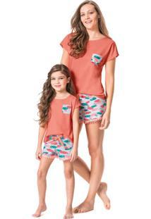 Pijama Com Renda Adulto Malwee Liberta
