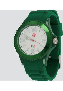 Relógio Bel Watch Palmeiras Feminino Verde