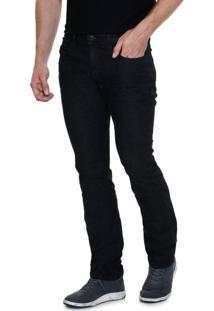 Calça Masculina Slim Em Jeans Marisa