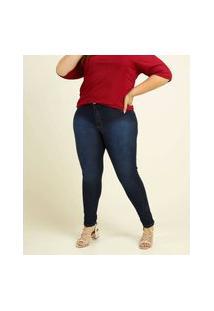 Calça Plus Size Feminina Skinny Biotipo