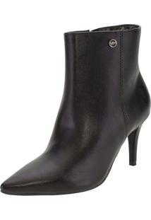 Bota Feminina Ankle Boot Via Marte - 206201 Preto 38