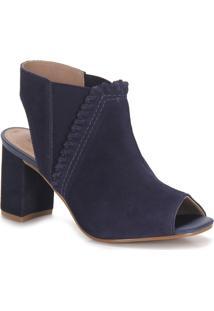 Ankle Boots Feminina Lara - Marinho
