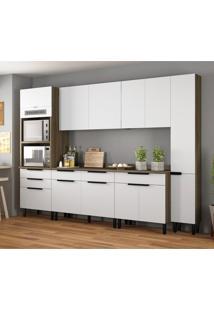 Cozinha Compacta Itamaxi I 11 Pt 6 Gv Branca E Castanho
