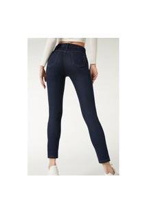 Calça Jeans Push-Up Macias - Azul