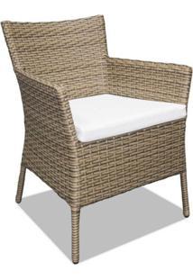 Cadeira Peruíbe Para Área Externa Fibra Sintética Estrutura Alumínio Eco Friendly Design Scaburi
