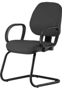 Cadeira Corporate Executiva Cor Preto Com Base Skim - 43986 - Sun House