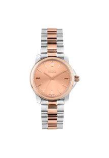 Relógio Vivara Feminino Aço Prateado E Rosé - Ds14161R0A-1