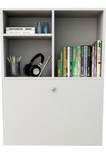 Escrivaninha Suspensa Com 1 Porta Bac3700-Appunto - Branco