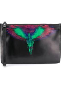 Marcelo Burlon County Of Milan Clutch Estampada - Preto