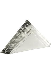 Porta Guardanapo Triangular Com Friso - St. James
