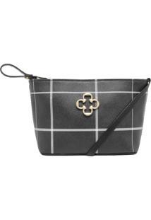 Bolsa Capodarte Pequena Shoulder Bag Preta