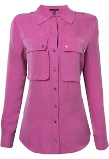 Camisa Rosa Chá Fancy 2 Rosa Feminina (Magenta Haze, M)