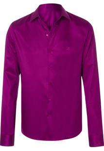 Camisa Masculina Emilia - Roxo