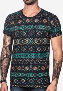 Camiseta Hermoso Compadre Ethnic Color Masculina - Masculino