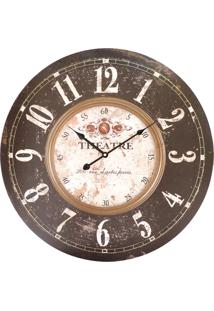 015a61bc75f ... Relógio Kasa Ideia De Parede Theatre 58Cm