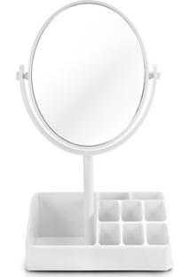 Espelho De Mesa Com Divisórias Jacki Design Espelho Branco