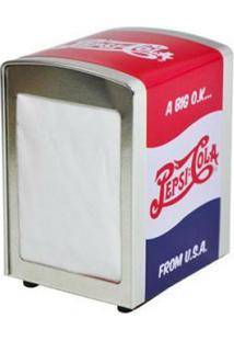 Porta Guardanapos Em Metal Estampa Rótulo Retrô Pepsi Cola 17810