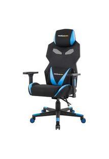 Cadeira Office Pro Gamer Z Preta Com Azul - 50117 Preto Com Azul