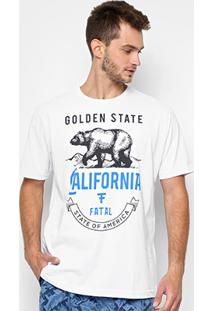 Camiseta Fatal Masculino Urso Golden State Masculina - Masculino