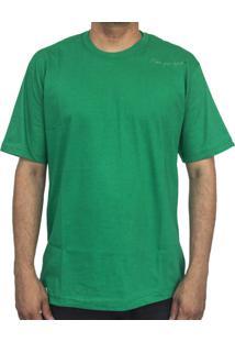 Camiseta Make Shoulder Verde